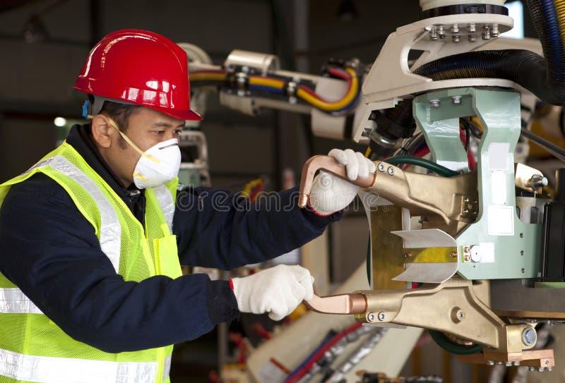 工业工程师 库存照片