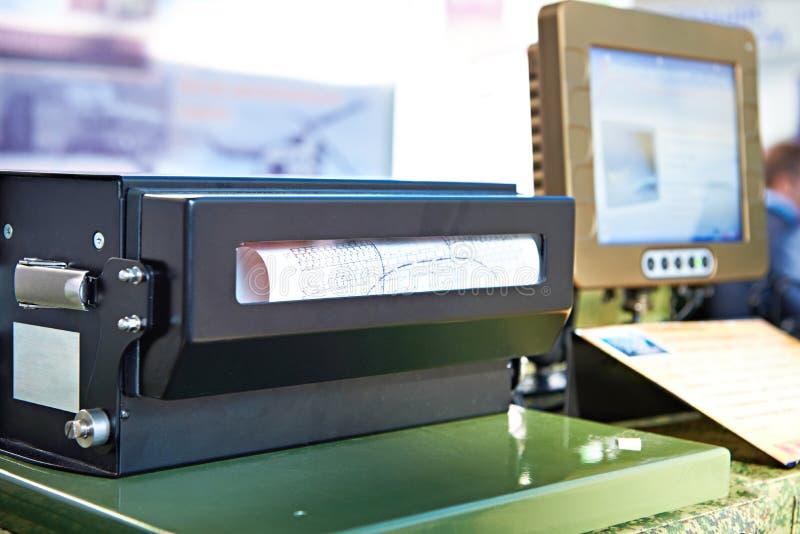 工业打印机 免版税库存照片