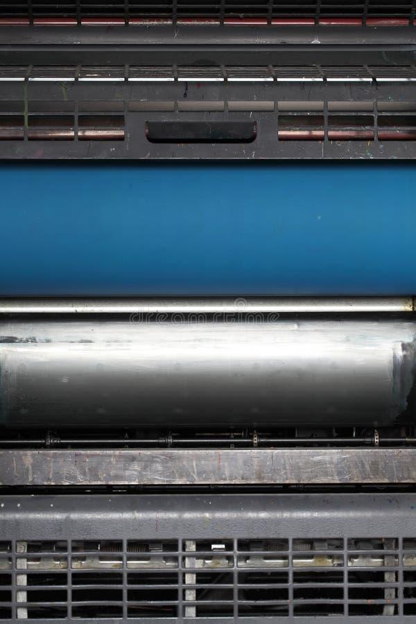 工业机械工具的内部零件,与sp的背景 图库摄影