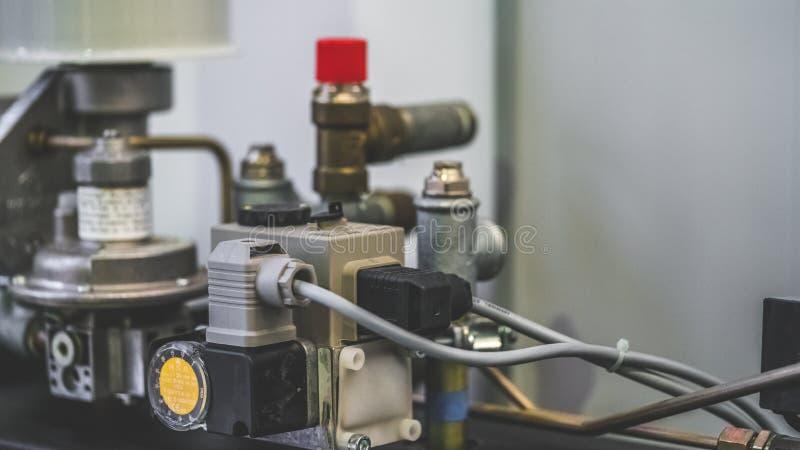 工业机械引擎仪器工具 库存图片