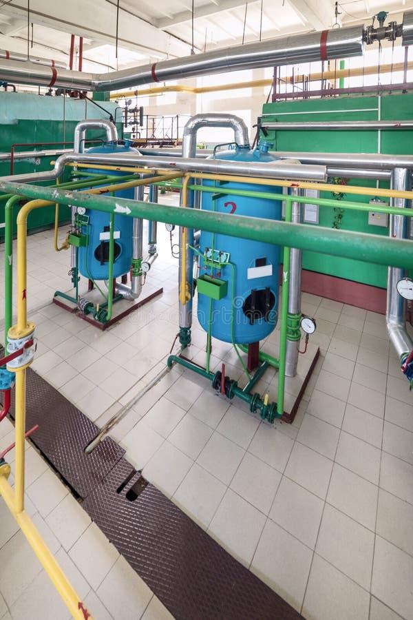 工业水处理的过滤器 图库摄影