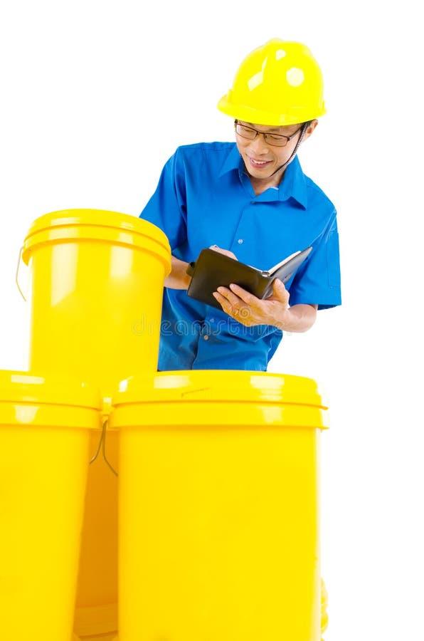 工业油和润滑剂产品 库存图片