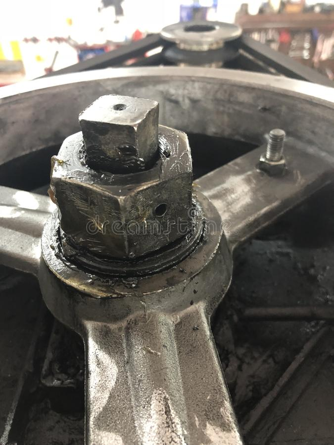 工业油膏 库存图片