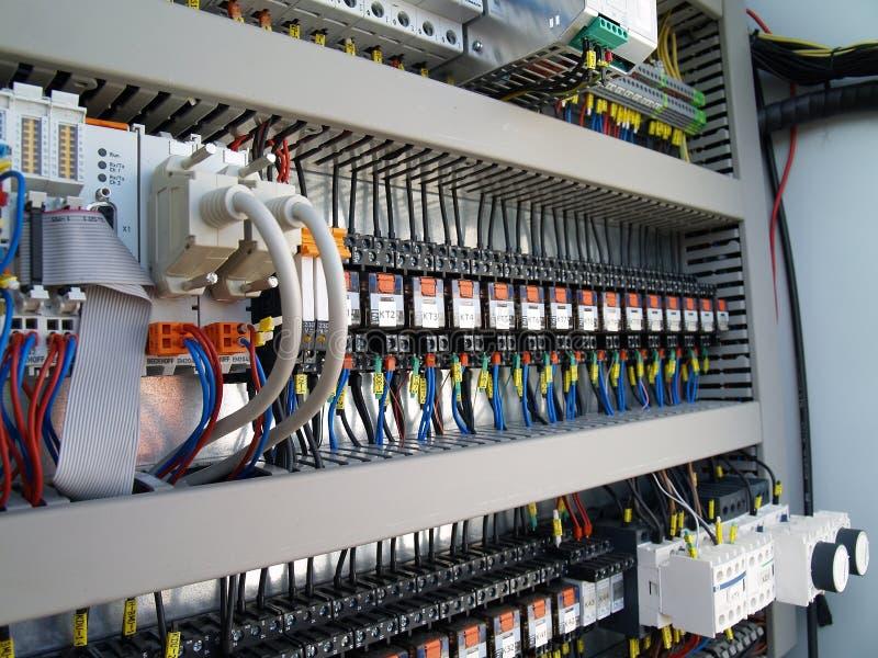 工业电机设备 免版税库存照片