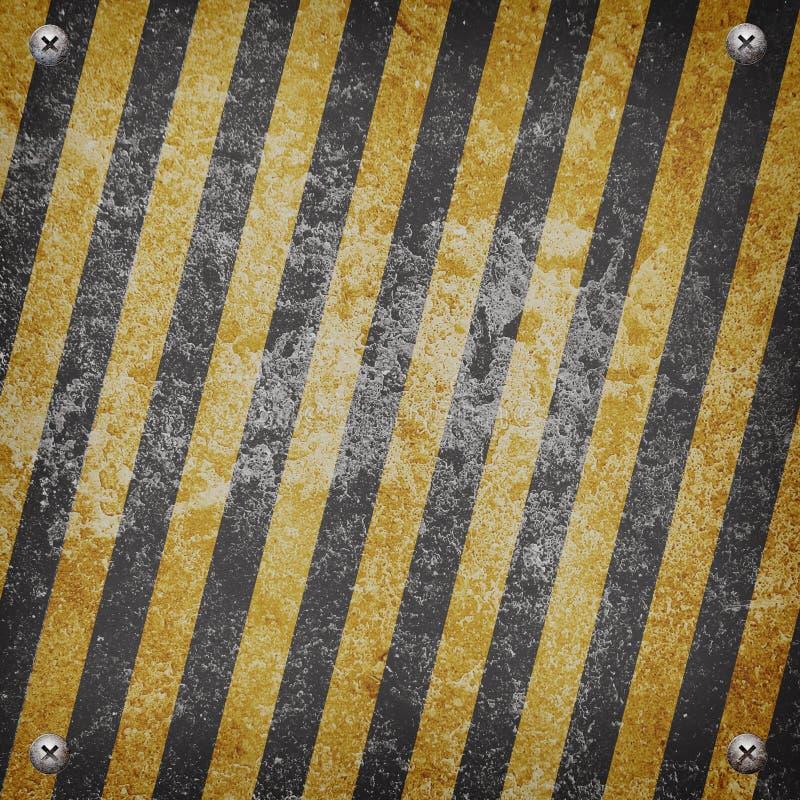 工业脏的钢板 库存例证