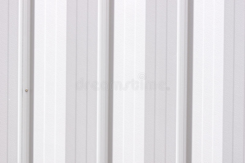 工业钢房屋板壁 免版税库存照片