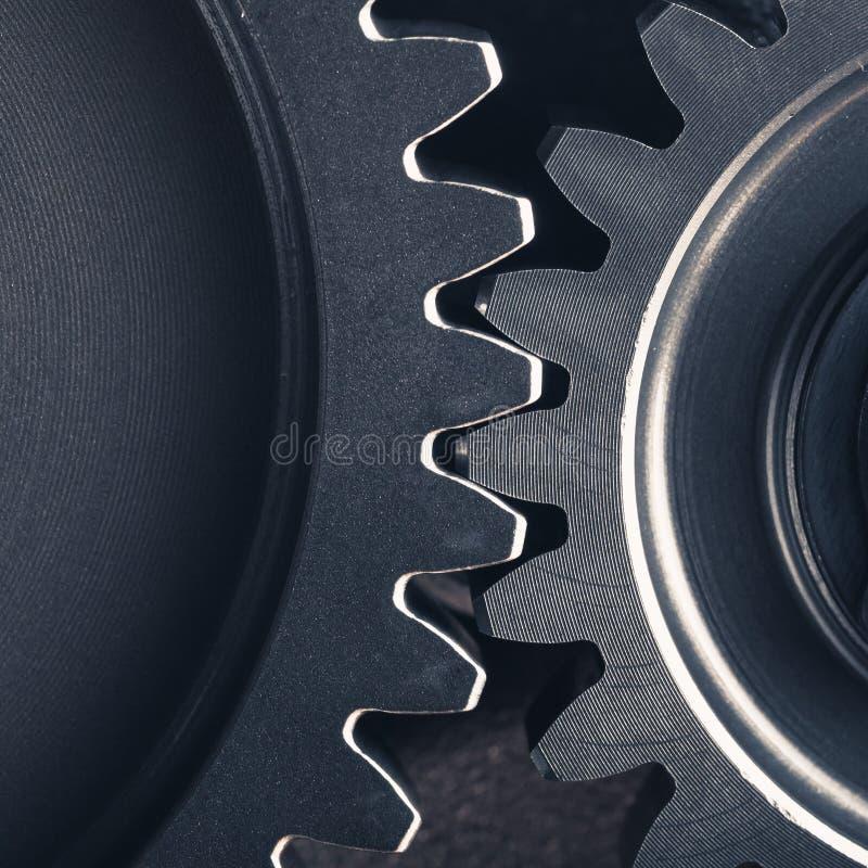 工业齿轮钝齿轮 免版税库存照片