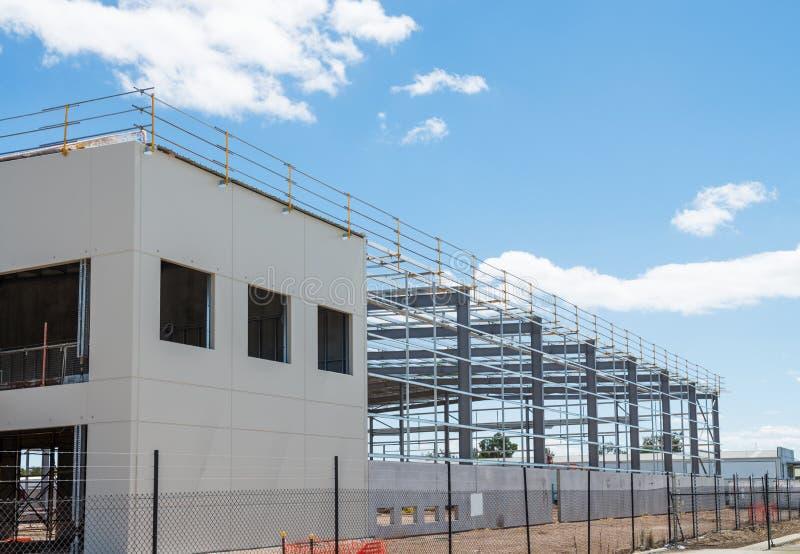 工业建造场所 免版税库存图片