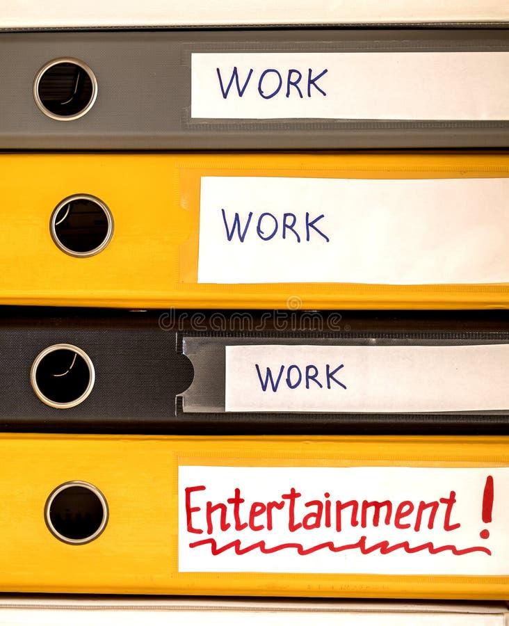 工作和生活平衡 免版税库存照片