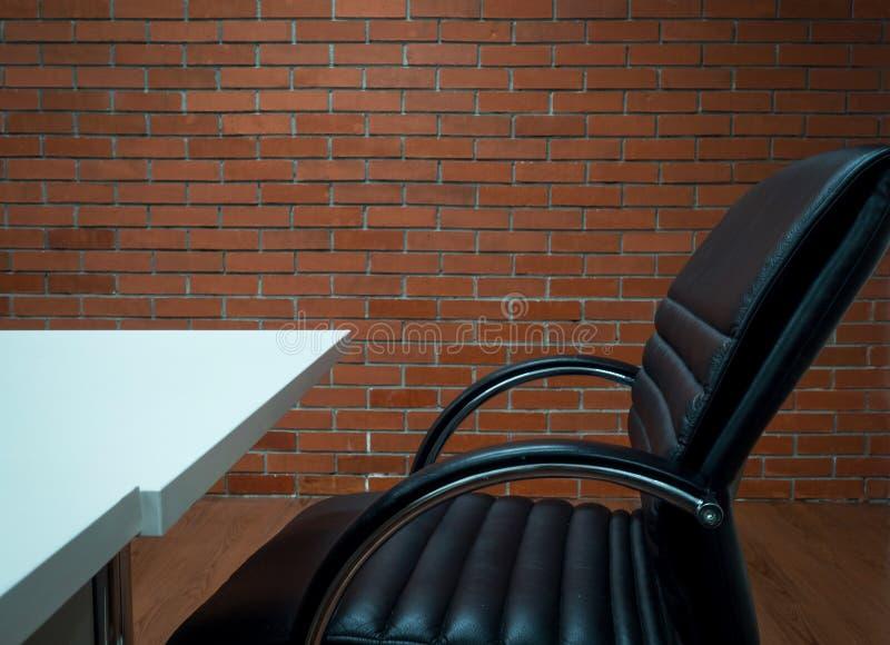 工作场所办公室背景 免版税库存照片