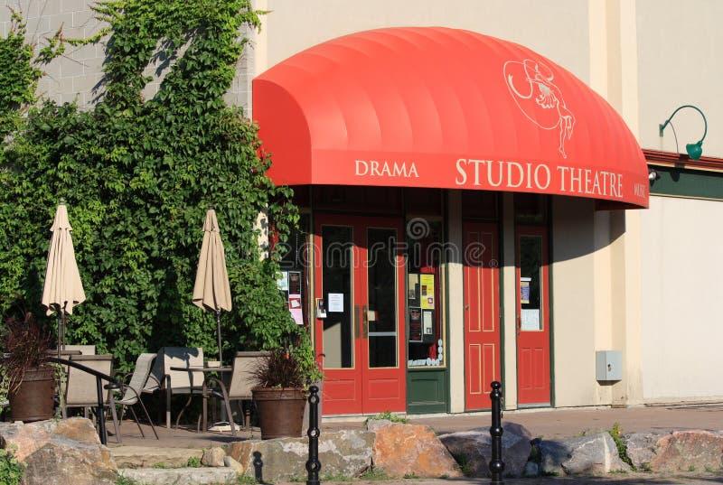 工作室剧院在珀斯 免版税图库摄影