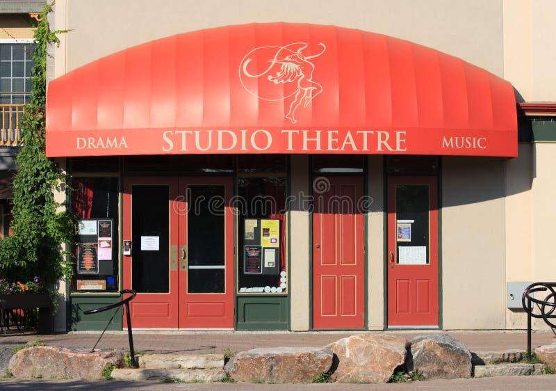 工作室剧院在珀斯 免版税库存图片