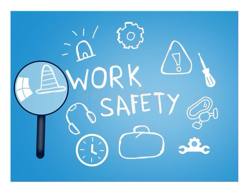 工作您的事务的安全优化 库存例证