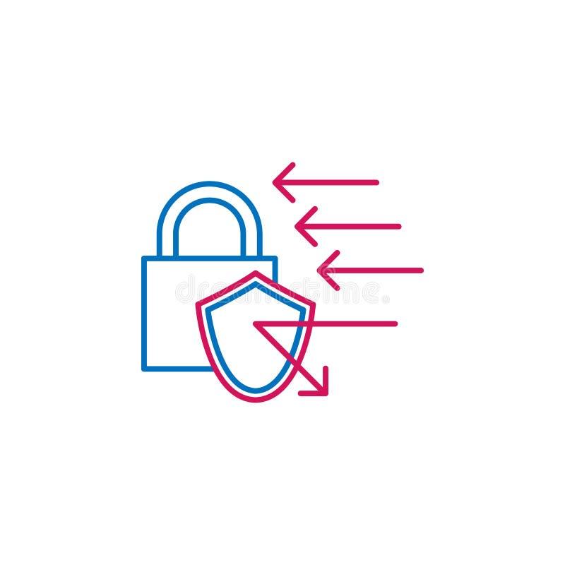 工作简历,挂锁2种族分界线象 简单的色素象 工作简历,挂锁概述标志从工作的设计象 向量例证