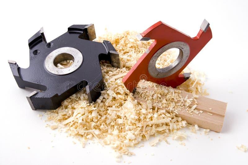 工具木材加工 免版税库存照片