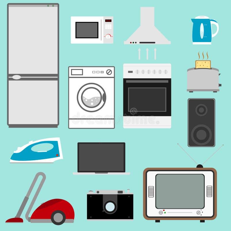 工具设计家图标厨房设置了您 库存例证