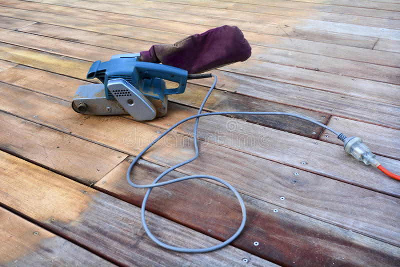 工具-沙磨机 库存图片