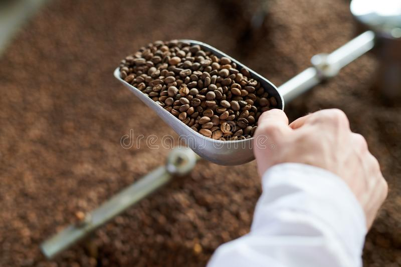 工匠咖啡 免版税库存照片
