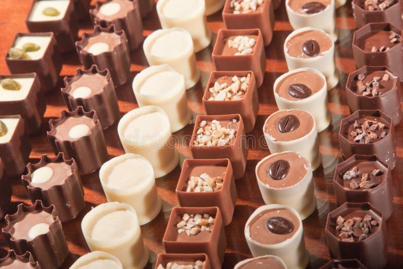 工匠巧克力 库存照片
