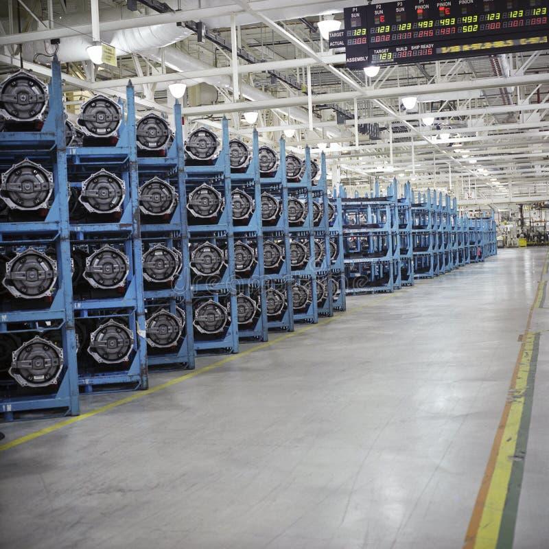 工厂传输 库存照片