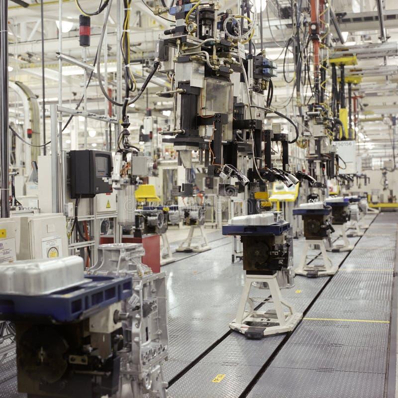 工厂传输 免版税图库摄影