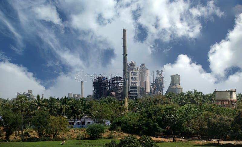 工厂印度喀拉拉现代南部 免版税库存图片