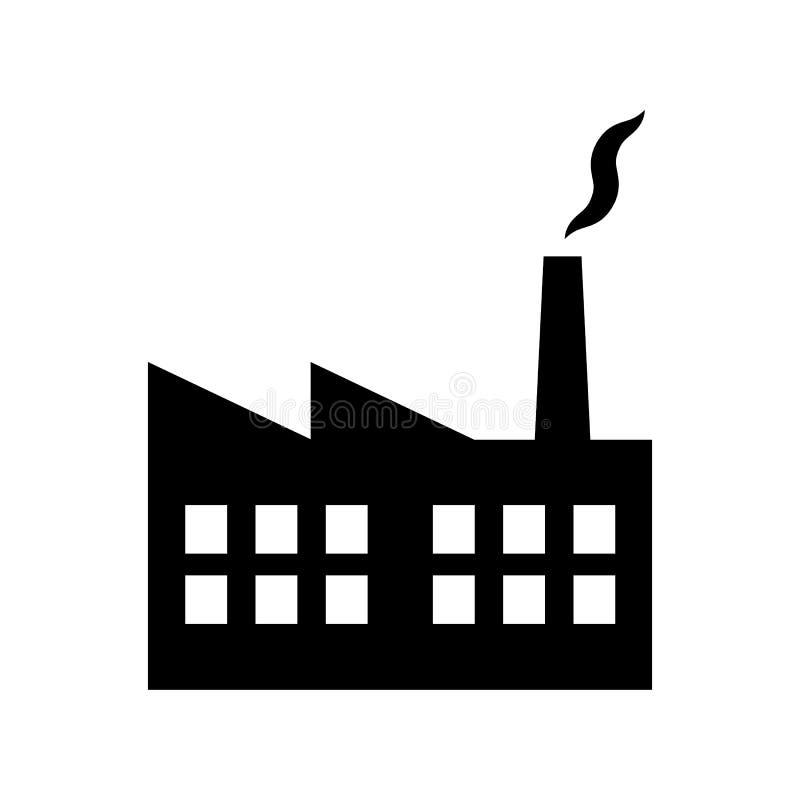 工厂厂房工厂和能源厂象图形设计的,网站,社会媒介,UI,流动upp传染媒介例证 皇族释放例证