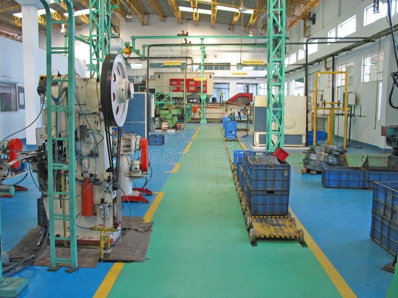工厂楼层计划的印度现代