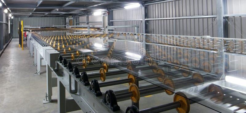 工厂玻璃 免版税库存图片