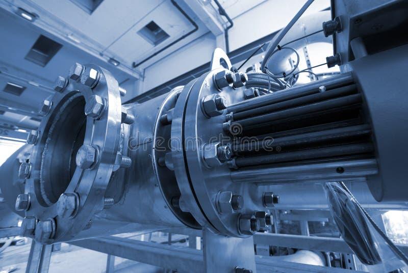 工厂行业传递钢 免版税库存照片