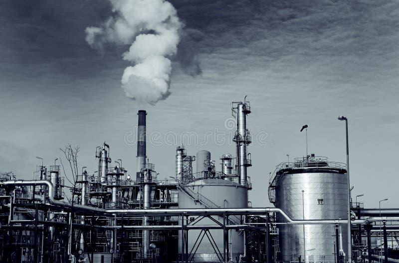 工厂重工业安装 图库摄影