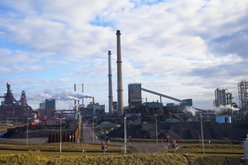 工厂重工业钢 免版税图库摄影