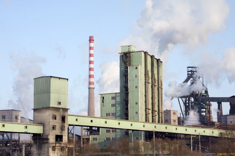 工厂钢 图库摄影