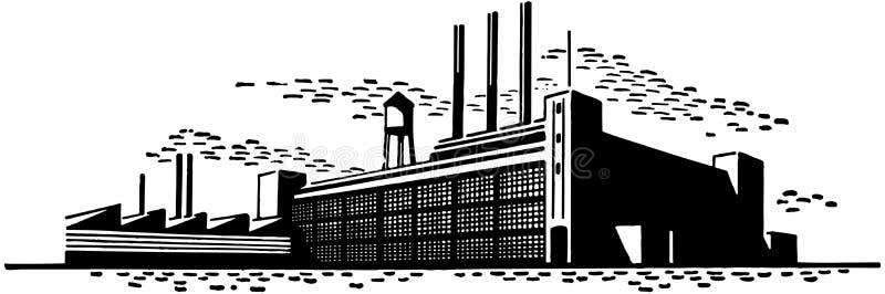 工厂 向量例证