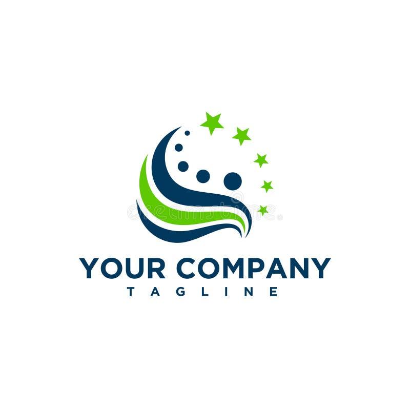 工商业界摘要商标标志 向量例证