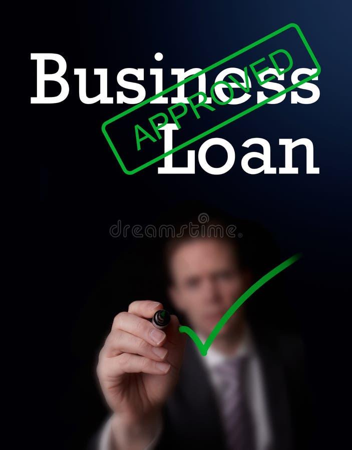 工商业贷款 库存图片