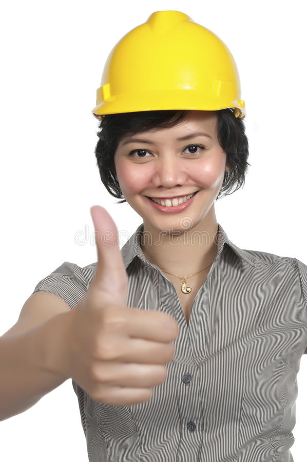 工程师女性 库存图片