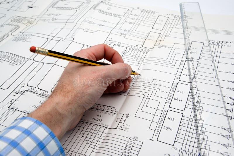 工程师项目工程 库存图片