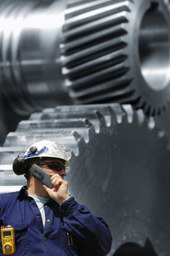 工程设备规定期限 免版税库存照片