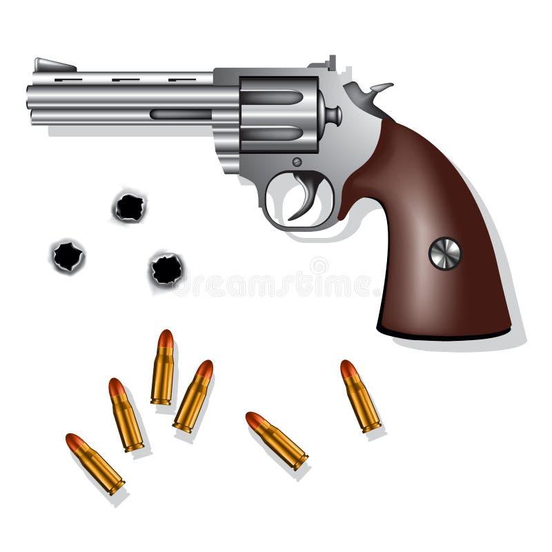 左轮手枪 库存例证