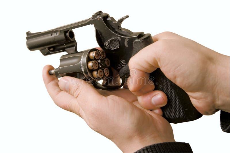左轮手枪 库存照片