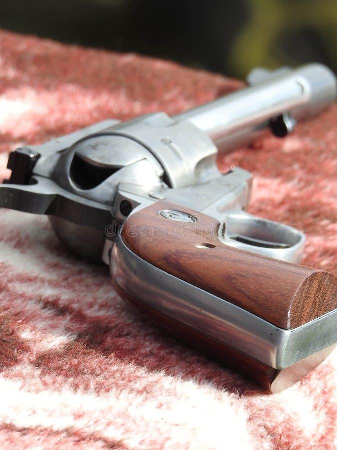 左轮手枪 免版税库存图片