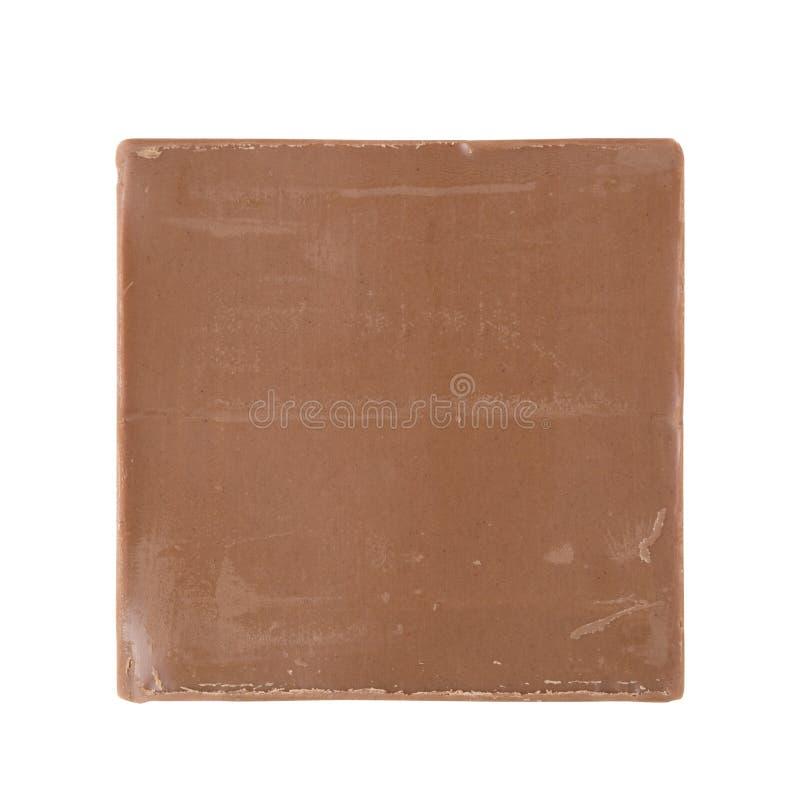 巧克力一件  免版税库存照片