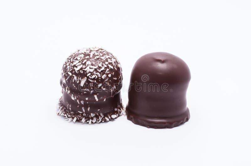 巧克力上面 库存图片
