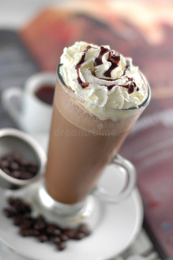 巧克力冰 免版税库存照片