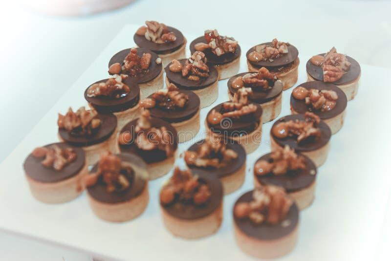 巧克力可口Franch dessrt  库存照片