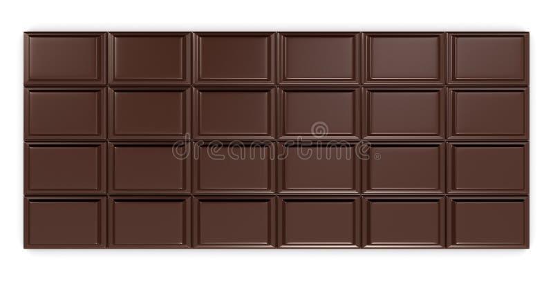 巧克力块 皇族释放例证