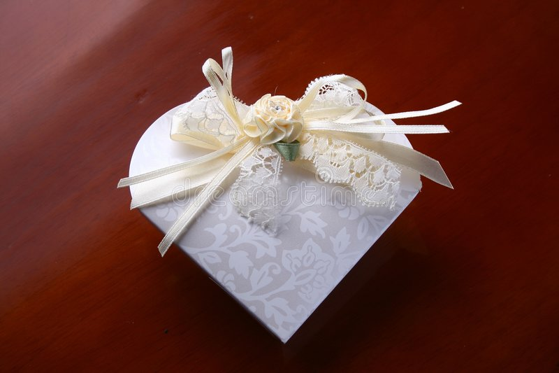 巧克力婚礼 免版税库存图片