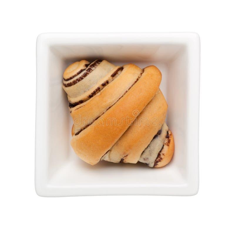 巧克力小圆面包 图库摄影