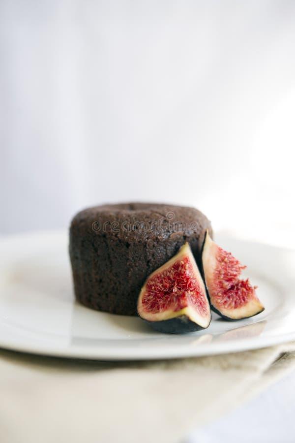 巧克力方旦糖 免版税库存图片
